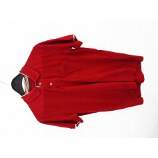 1 Fyord polo rood herenmaat M/damesmaat L
