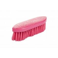 HKM Roze hoefijzer harde borstel